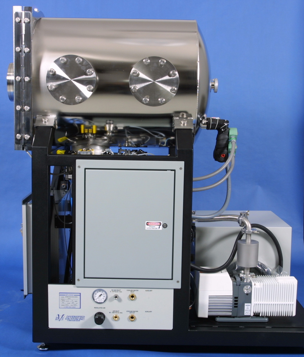 DVI Model 2600 Thermal Vacuum Test System - Service View
